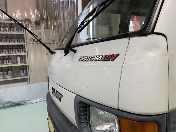 ダイハツ ハイゼットバン フロントまわり 保険修理