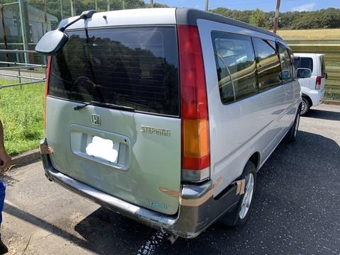 ホンダ ステップワゴン 後ろ回り保険修理