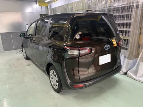 トヨタ シエンタ スライドドア修理