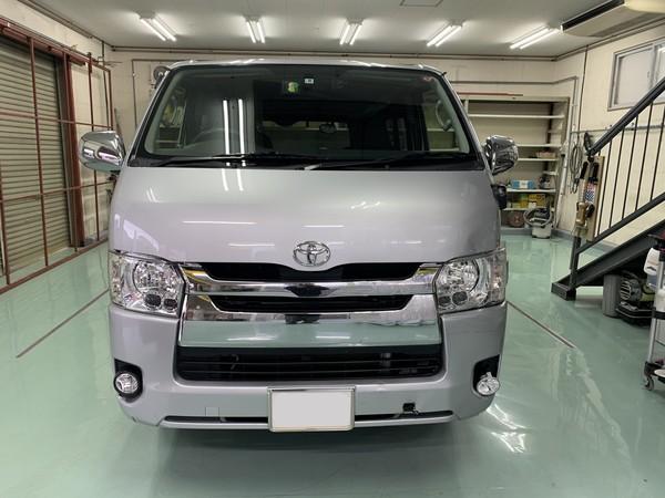 トヨタ ハイエース 左フロントまわり 交換及び修理 埼玉県
